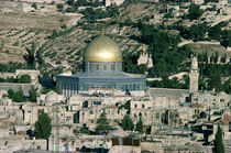 The Dome of the Rock, built AD 692 by Islamic School