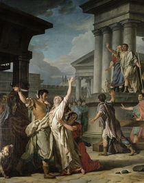 Virginius About to Kill his Daughter by Nicolas Guy Brenet