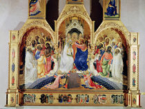 The Coronation of the Virgin von Lorenzo Monaco