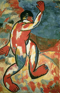 A Bather, 1911 by Kazimir Severinovich Malevich