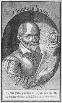 Claude Le Jeune 1598 von French School