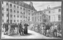 Ceremony before the departure of the convicts von Gabriel Cloquemin