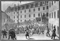 Arrival of the convicts at Bicetre von Gabriel Cloquemin