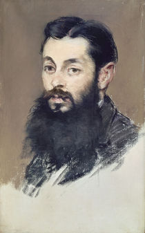 Dr. Materne, doctor of Napoleon III c.1880-81 by Edouard Manet