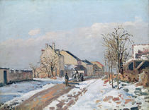 The Road from Gisors to Pontoise von Camille Pissarro