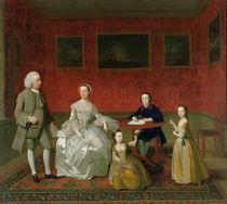 The Buckley-Boar Family, c.1758-60 by English School