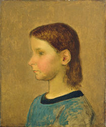Louise Millet, c.1863 by Jean-Francois Millet