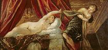 Joseph and the Wife of Potiphar von Jacopo Robusti Tintoretto