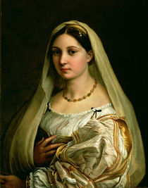 The Veiled Woman, or La Donna Velata by Raphael