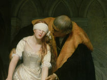 The Execution of Lady Jane Grey by Hippolyte Delaroche