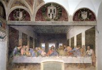 The Last Supper, 1495-97 by Leonardo Da Vinci