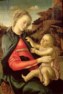 The Virgin and Child c.1465-70 von Sandro Botticelli