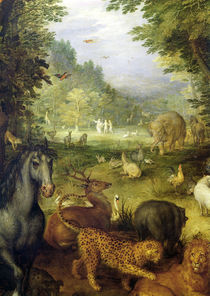 Earth, or The Earthly Paradise von Jan Brueghel the Elder
