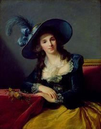 Antoinette-Elisabeth-Marie d'Aguesseau Countess of Segur von Elisabeth Louise Vigee-Lebrun