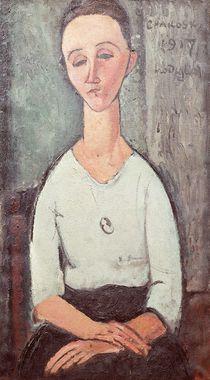 Portrait of Madame Chakowska by Amedeo Modigliani