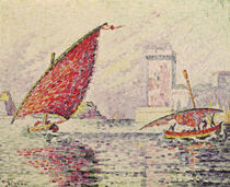 Fort Saint-Jean, Marseilles von Paul Signac