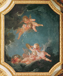 Winter, from a series of the Four Seasons in the Salle du Conseil von Francois Boucher