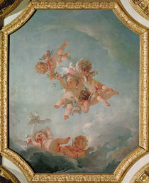 Spring, from a series of the Four Seasons in the Salle du Conseil by Francois Boucher