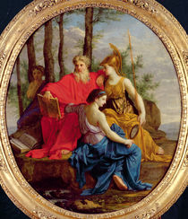 Allegory of a Perfect Minister or von Eustache Le Sueur