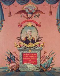 In Praise of George Washington by American School