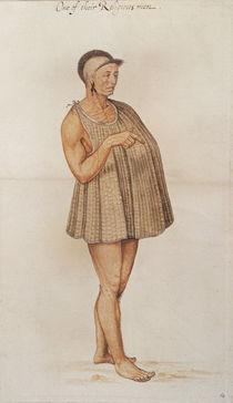 Religious Man of Pomeiooc von John White