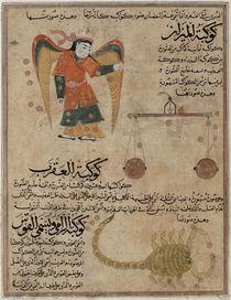 Ms E-7 fol.24a Virgo, Libra and Scorpio von Islamic School