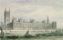 The Houses of Parliament by Thomas Hosmer Shepherd