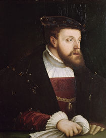 Portrait of Charles V by German School