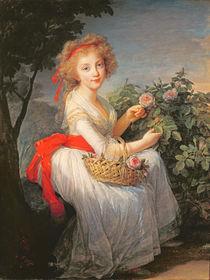 Portrait of Marie-Christine of Bourbon-Naples von Elisabeth Louise Vigee-Lebrun