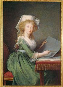 Marie-Louise of Bourbon-Sicily 1790 by Elisabeth Louise Vigee-Lebrun