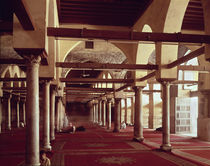 The Qibla Liwan of the Mosque of Al-Azhar by Islamic School