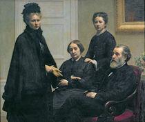 The Dubourg Family, 1878 by Ignace Henri Jean Fantin-Latour