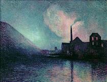 Couillet by Night, 1896 von Maximilien Luce