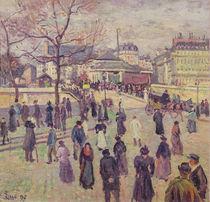The Pont de l'Archeveche, 1897 von Maximilien Luce