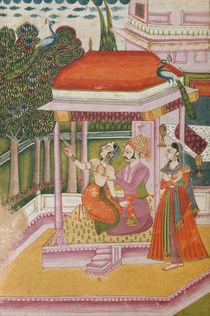 Ramakali Ragini, from a Ragamala by Indian School