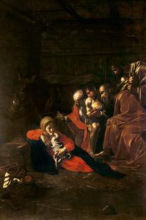 Adoration of the Shepherds by Michelangelo Merisi da Caravaggio