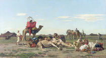 Nomads in the Desert, 1861 by Georges Washington