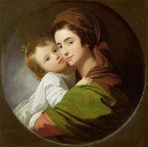 The Artist's Wife, Elizabeth by Benjamin West