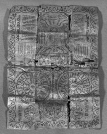 Cabalistic amulet by Jewish School