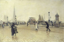 The Pont Corneille, Rouen, 1891 by Leon Lemaitre