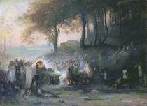 A Pagan Procession, 1896 by Henri Foreau