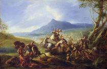 Battle Scene, before 1680 von Joseph Parrocel