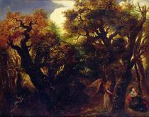 Wooded Landscape with Hagar and the Angel von Jan the Elder Lievens