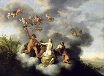 Ceres, Bacchus, Venus and Cupid by Cornelis van Poelenburgh