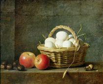 The Basket of Eggs, 1788 von Henri Roland de la Porte