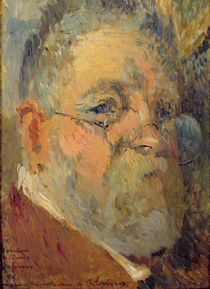 Self Portrait by Albert-Charles Lebourg