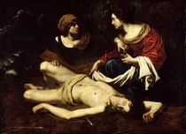 St. Sebastian Tended by St. Irene by Nicolas Regnier