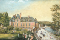 The Chateau de la Chaussee by French School