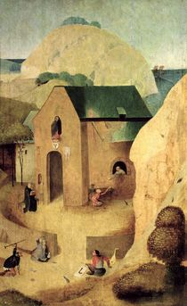 An Antonian Priory by Hieronymus Bosch