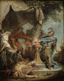 Mucius Scaevola before Porsenna von Francois Boucher